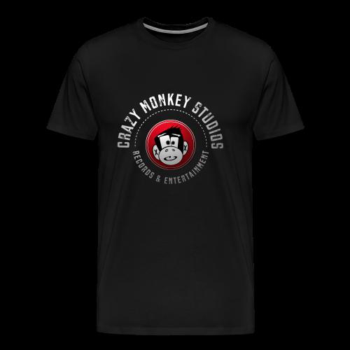 Crazy Monkey Records - Männer Premium T-Shirt