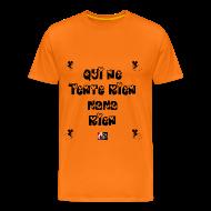 Tee shirts ~ Tee shirt Premium Homme ~ Qui ne tente rien, NANA rien - Jeux de Mots Francois Ville