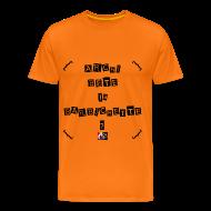 Tee shirts ~ Tee shirt Premium Homme ~ ARCHI BÊTE la BARBICHETTE ? - Jeux de Mots Francois Ville