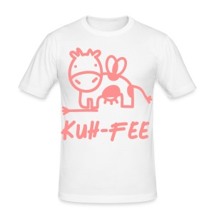 Kuh Fee T-Shirts - Männer Slim Fit T-Shirt