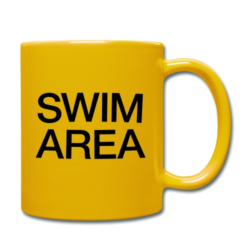 SWIM AREA Buoy Mug - Full Colour Mug