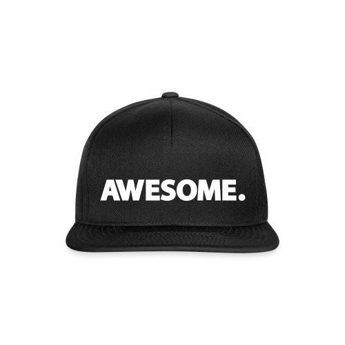 Awesome. - Snapback cap