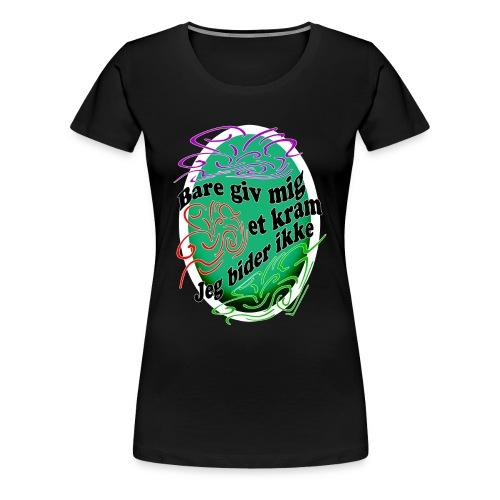 Dame premium T-shirt - Dame premium T-shirt