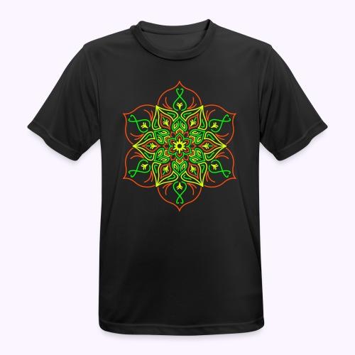 Fire Lotus Men 4-Color Function Shirt - Men's Breathable T-Shirt