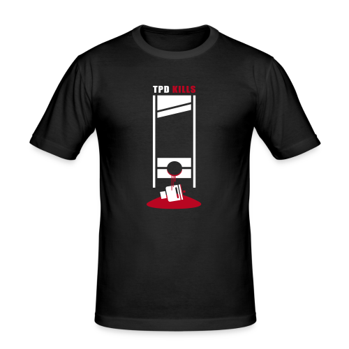 TPD KILLS VAPE - T-shirt près du corps Homme