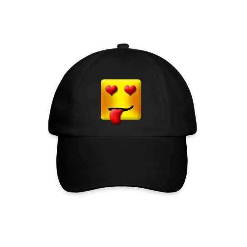 Baseball cap with square love face - Baseballkasket