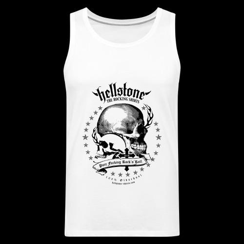 Hellstone Skull Tank Top - Männer Premium Tank Top