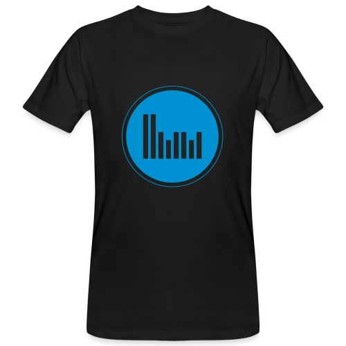 Herbie Martin Music Men T-Shirt Blue - Men's Organic T-Shirt