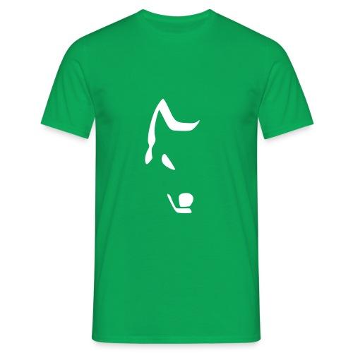 Maglietta Half Wolf - Maglietta da uomo