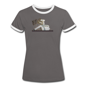 AMAZONE - Frauen Kontrast-T-Shirt