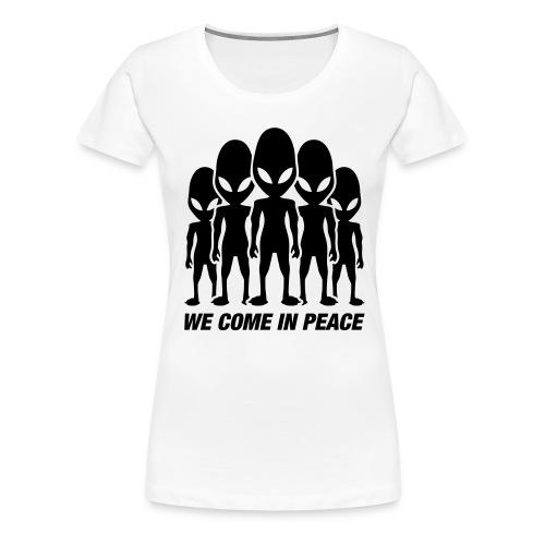T-Shirt Aliens - Frauen Premium T-Shirt