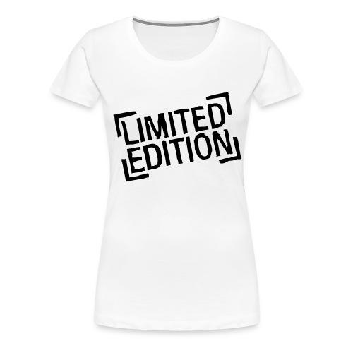 T-Shirt Limited - Frauen Premium T-Shirt