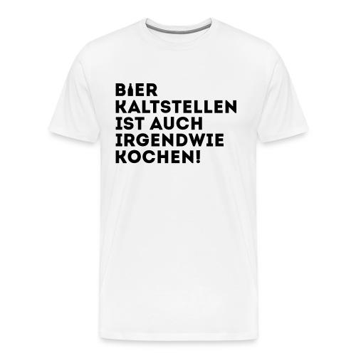 T-Shirt Kochen - Männer Premium T-Shirt
