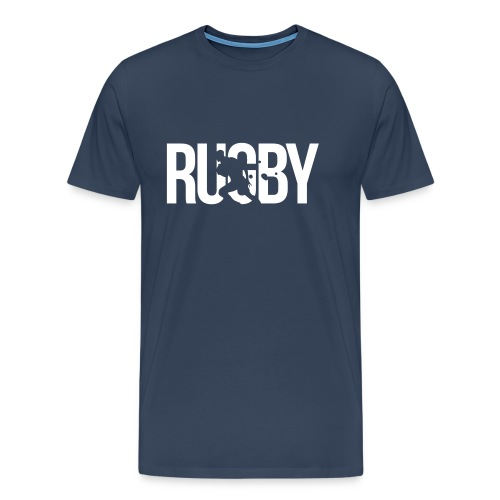 'Rugby' Premium T-Shirt (Mens) - Men's Premium T-Shirt