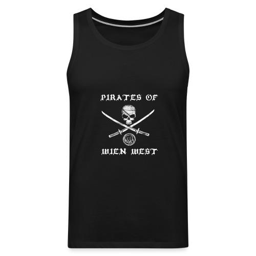 Pirates of Wien West Tank Top - Men's Premium Tank Top