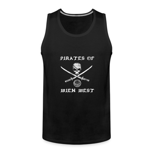 Pirates of Wien West Tank Top - Men's Premium Tank Top