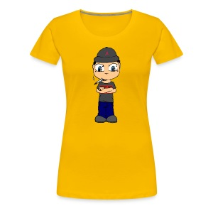 Freezy Trap GirlieShirt - Frauen Premium T-Shirt