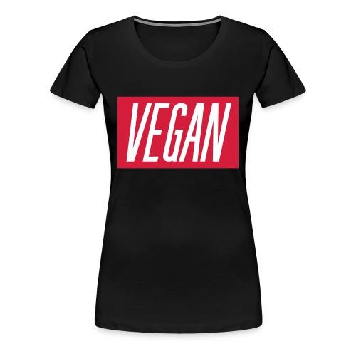 Vegan scritta - Maglietta Premium da donna