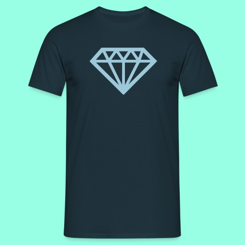 Diamond T-Shirt türkis - Männer T-Shirt