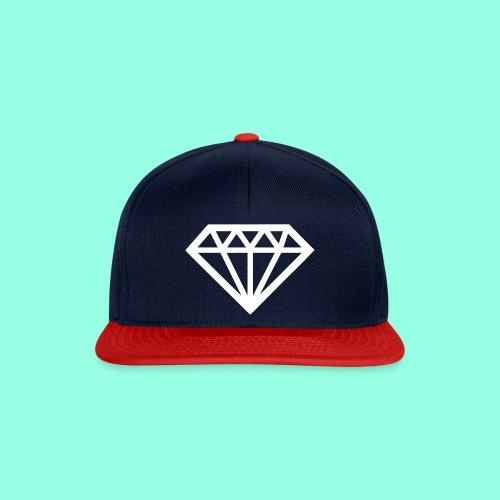 Diamond Snapback Cap  - Snapback Cap