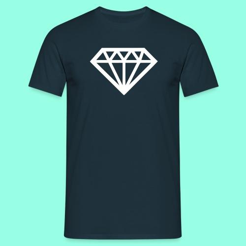 Diamond T-Shirt weiß - Männer T-Shirt