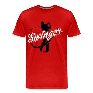 Golf Swinger T-Shirts - Men's Premium T-Shirt