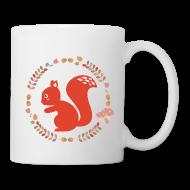 Bouteilles et Tasses ~ Tasse ~ tasse écureuil