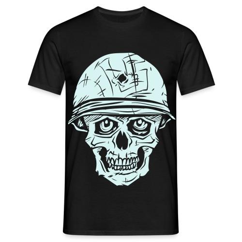 L5 Kallo (heijastuskalvo) - Miesten t-paita