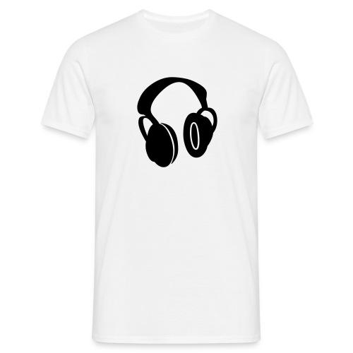kopfhörer - Männer T-Shirt