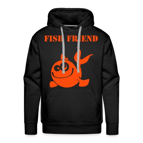 Fish Friend - Men's Premium Hoodie