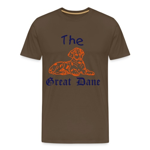 The Great Dane - Men's Premium T-Shirt
