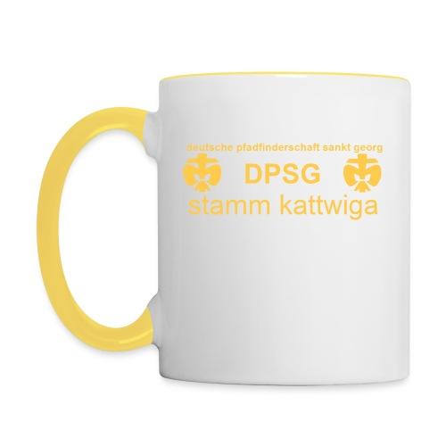 DPSG Kattwiga Tasse zweifarbig - Tasse zweifarbig
