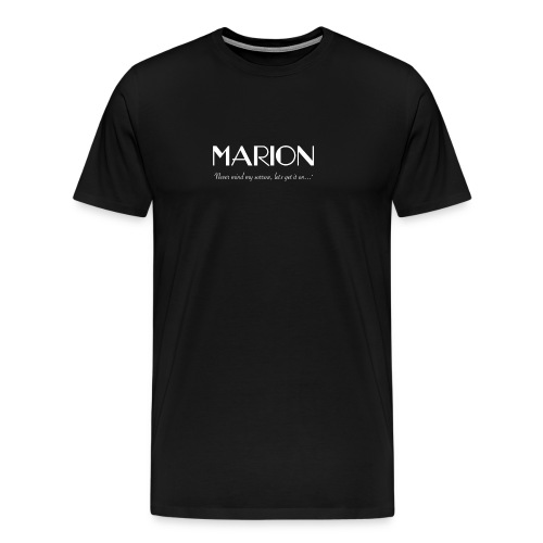 Marion: Hurricane - Mens T-Shirt - Men's Premium T-Shirt
