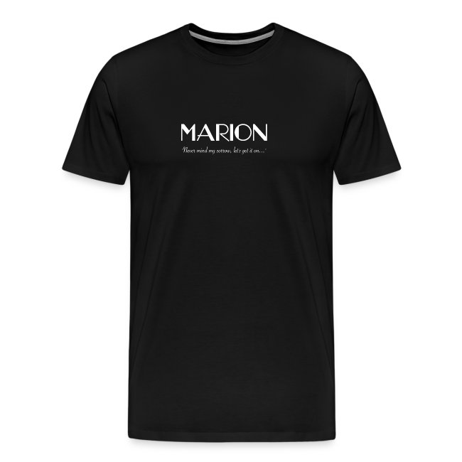 Marion: Hurricane - Mens T-Shirt
