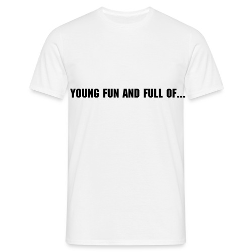 YOUNG FUN AND FULL  OF CUM! - Men's T-Shirt