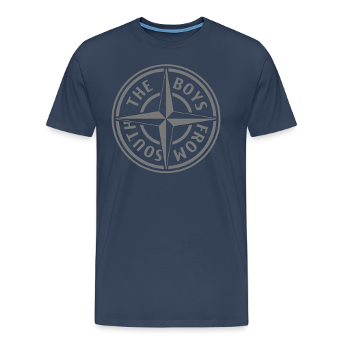 T-Shirt Boys NAVY1 - Mannen Premium T-shirt