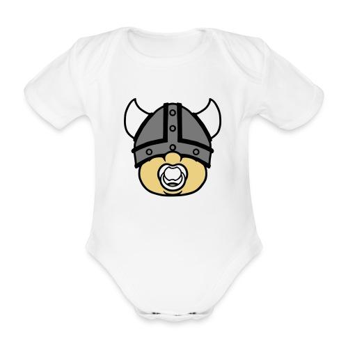 Baby Wikinger - Baby Bio-Kurzarm-Body