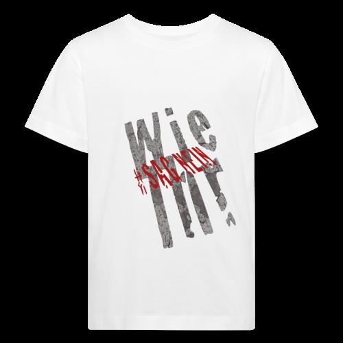 Wie Ihr xs - Kinder Bio-T-Shirt