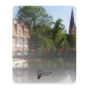Rote Rosen - Mousepad - Mousepad (Hochformat)