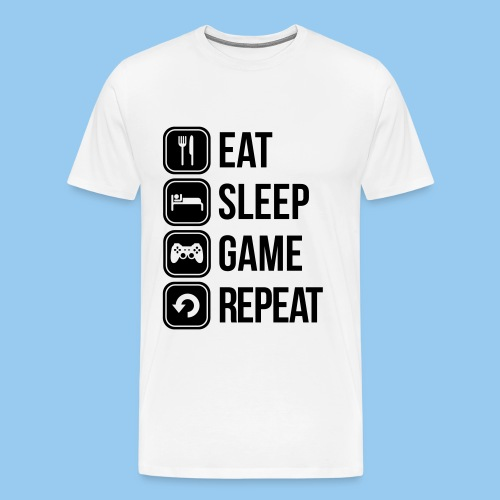 Gamer-Shirt - Maglietta Premium da uomo