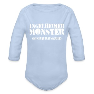Baby-Body Ingelheimer Monster (Miniaturausgabe) - Baby Bio-Langarm-Body