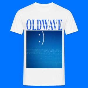 OLDWAVE Happy bluescreen - Men's T-Shirt