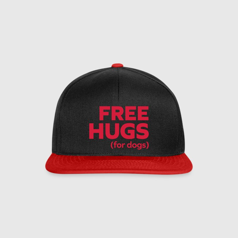 Free Hugs Dogs  Caps & Hats - Snapback Cap