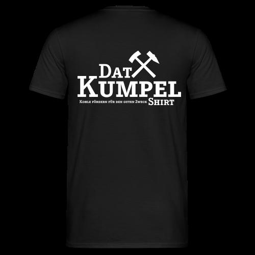 Dat Kumpel-Shirt Männer Druck hinten - Männer T-Shirt