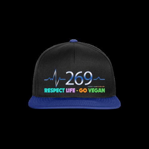 269 RESPECT LIFE - Snapback Cap