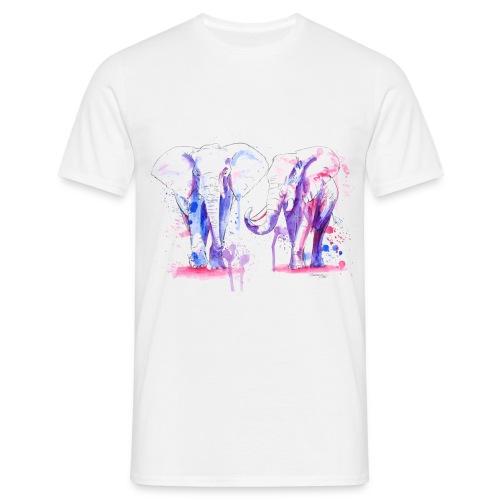 T-shirt homme éléphants - T-shirt Homme