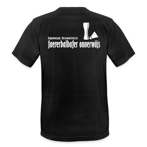 Männer T-Shirt atmungsakttiv Stammtisch - Männer T-Shirt atmungsaktiv