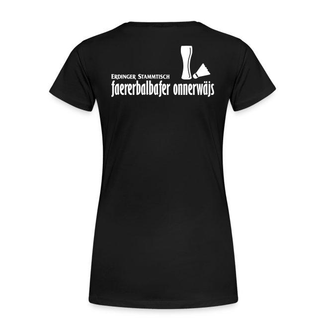 Frauen Premium T-Shirt Stammtisch