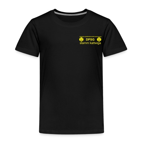 DPSG Kattwiga Kinder T-Shirt - Kinder Premium T-Shirt