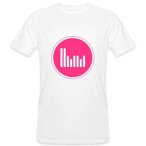 Herbie Martin Music Producer Edition Men T-Shirt Neonpink - Men's Organic T-Shirt